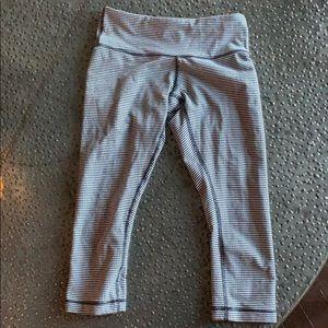 Lululemon checkered leggings
